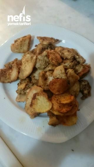 Tavuk Bonfile Kızartması (mis Gibi Oldu)