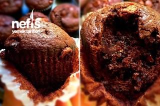 Çikolatalı Islak Kapkek (Double Chocolate Muffins) Tarifi
