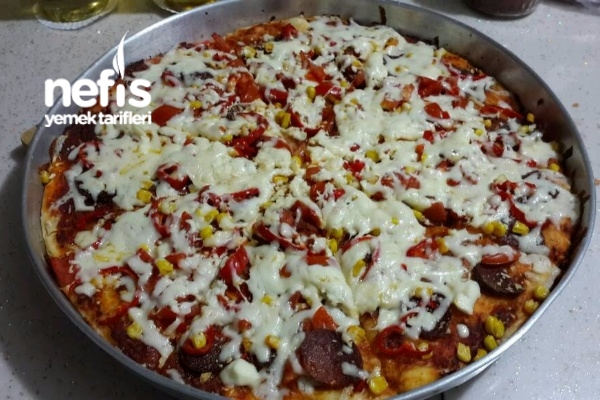 Nefis Pizza Yapımı