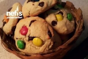 Çikolatalı Cookie ( Fotoğraflı Anlatım) Tarifi