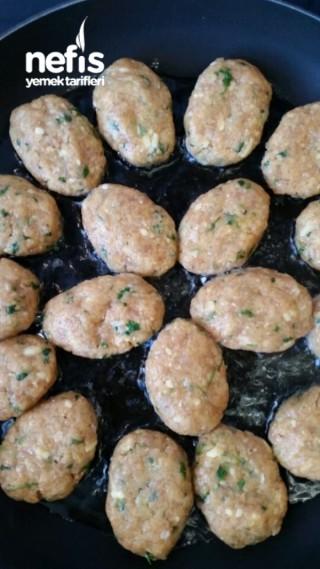Kremalı patates ve  Tavuk Köftesi