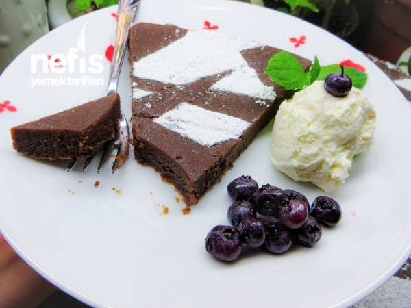Çikolatalı Fransız Turta Kek