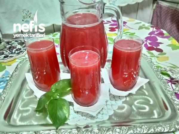 Osmanlı Şerbeti (çilekli Limonlu)
