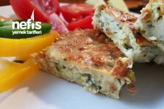 Fırında Patates Ve Kabaklı Omlet Tarifi