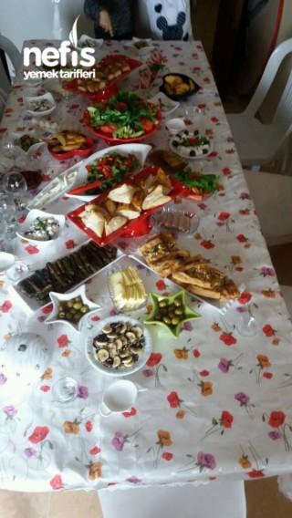 Nişanlim Ve Aileme Kahvaltı