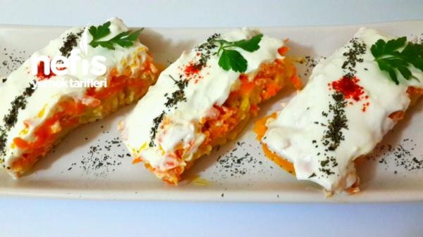 Pasta Görünümlü renkli  Meze