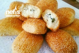 Simit Tadında Peynirli Poğaça Tarifi Videosu 100