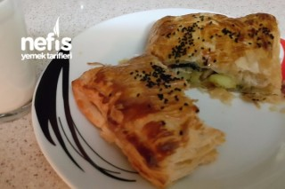 Tavuklu Sebzeli Milföy (Fotoğraflı Anlatım) Tarifi
