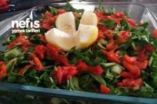 Taze Ispanak Salatası Tarifi