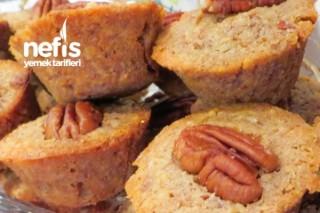 Pikan Cevizli Pay Muffin Tarifi