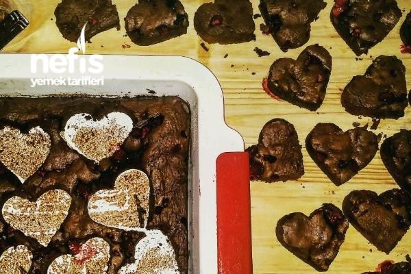 Brownie- Frambuazlı Tarifi