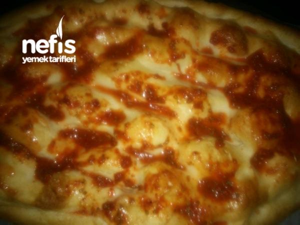 Kolay Pide Pizza Nefis Yemek Tarifleri