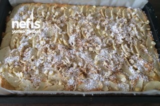 Elmalı Bademli Pasta Tarifi