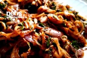 Nefis Tablacı Salatası Tarifi