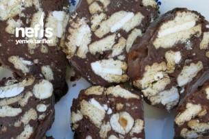 Kaymaklı Bisküvi İle Mozaik Pasta Tarifi