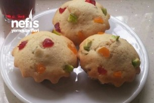 Meyveli Maffin Kek Tarifi