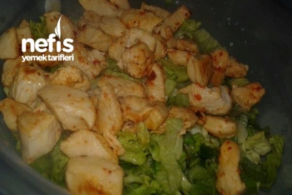 12 Kilo Vermemi Sağlayan Salata 2 Tarifi