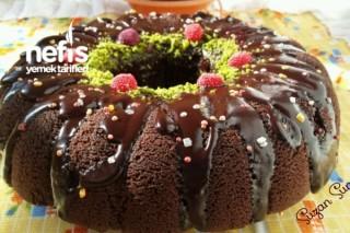 Browni Tadında Çaylı Kek Tarifi