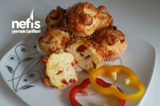 Pizza Muffinlerim Tarifi