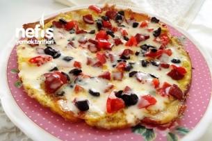 Kahvaltılık Patates Pizza Tarifi