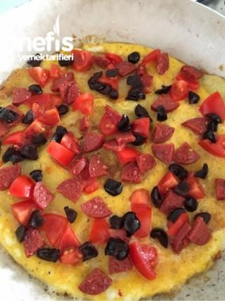 Kahvaltılık Patates Pizza