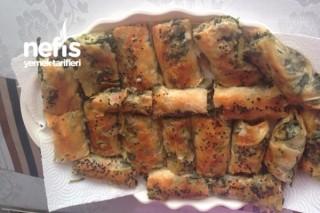 Ispanaklı Çarşaf Böreği Tarifi