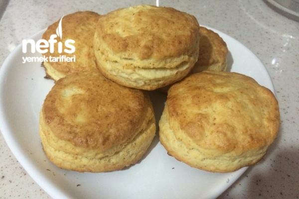 Amerikan Biscuit ( Kfc Ekmeği)