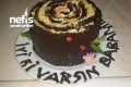 Kütük Pasta (Eşimin Doğum Günü İçin) Tarifi
