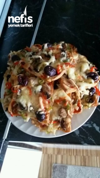 Pratik Bi Okadar Da Lezzetli Pizza