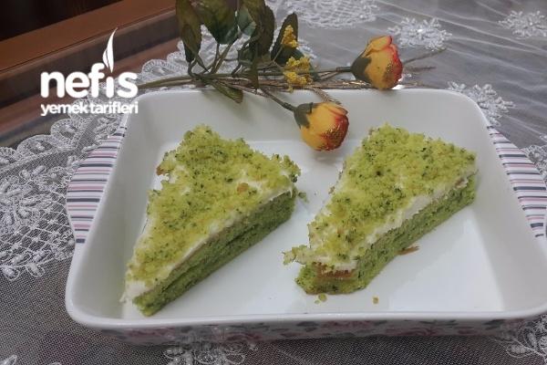 Kreması Nefis Ispanaklı Kek Tarifi
