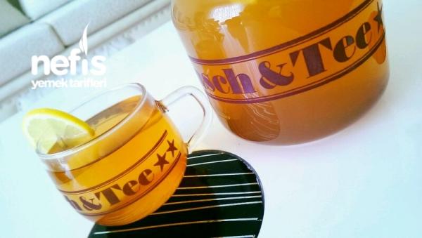 Soguk Alginliğina Kış Çayi