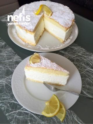 Zitronen Sahne Torte – Limon Kremalı Pasta