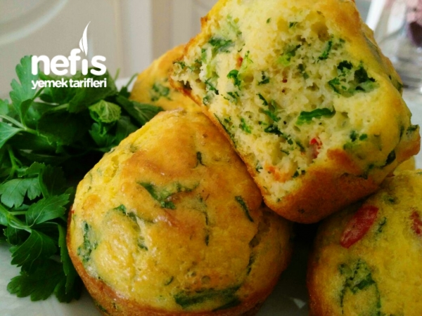 Bol Sebzeli Harika Muffinler