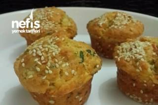 Peynirli Muffinler Tarifi