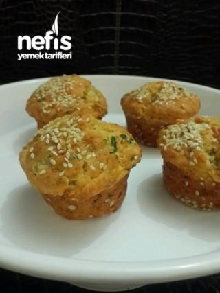 Peynirli Muffinler