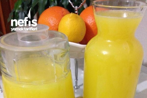 2 Portakal 1 Limon İle Hazır Meyve Suyu Tarifi