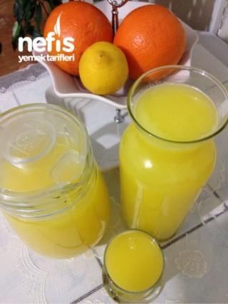 2 Portakal 1 Limon İle Evde Hazır Limonata