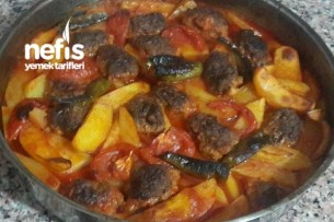 Fırında Patates ve Enfes Köfte Tarifim