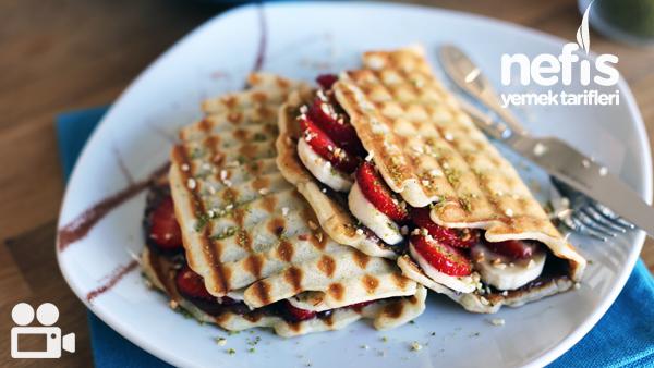 Tost Makinesinde Waffle Yapımı Tarifi