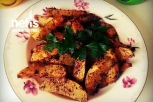 Nefis Pratik Fırında Patates Tarifi