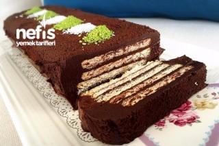 Çikolatalı Kitkat Pasta Tarifi