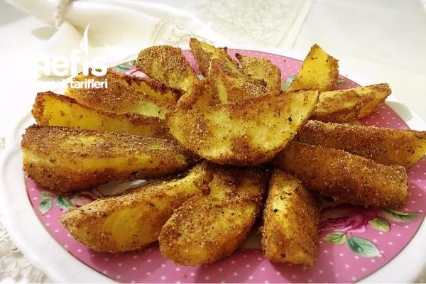 Fırında Çıtır Patates Dilimleri Tarifi