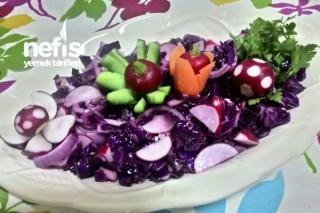 Minik Turplardan Salata Tarifi