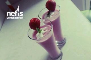 Dondurmalı Çilekli Milkshake Tarifi