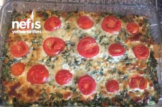 Fırından Peynirli Ispanak Tarifi
