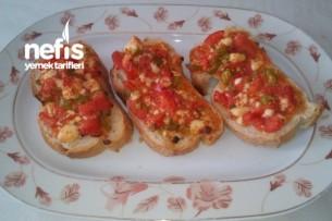 Kahvaltılık Ekmek Dilimli Pizza Tarifi