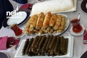 Zeytinyağlı Sarma Tarifi