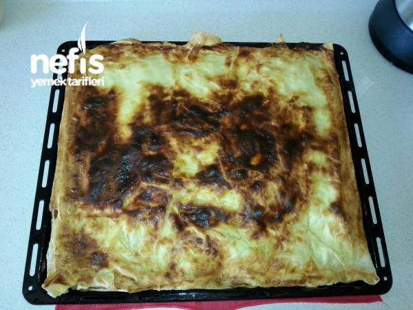 Hazır Yufkadan Patatesli Börek