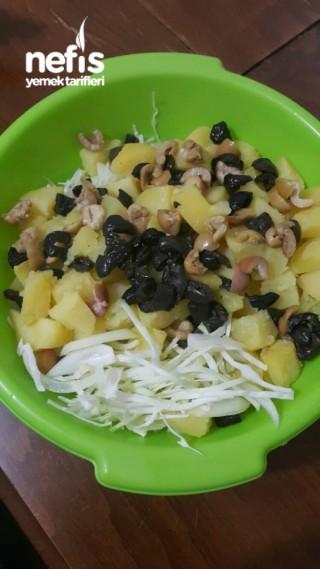 Beyaz Lahana Salatası ( Çay Saati İçin)