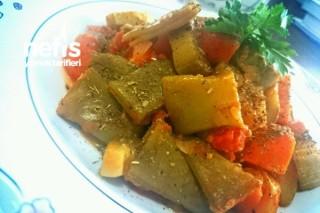 Ekşili Sebzeli Diyet Yemeği (Kardeşim İçin) Tarifi